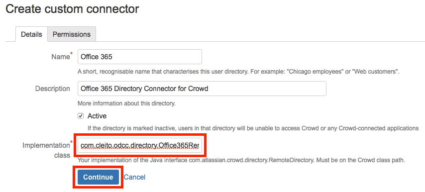 Create custom connector