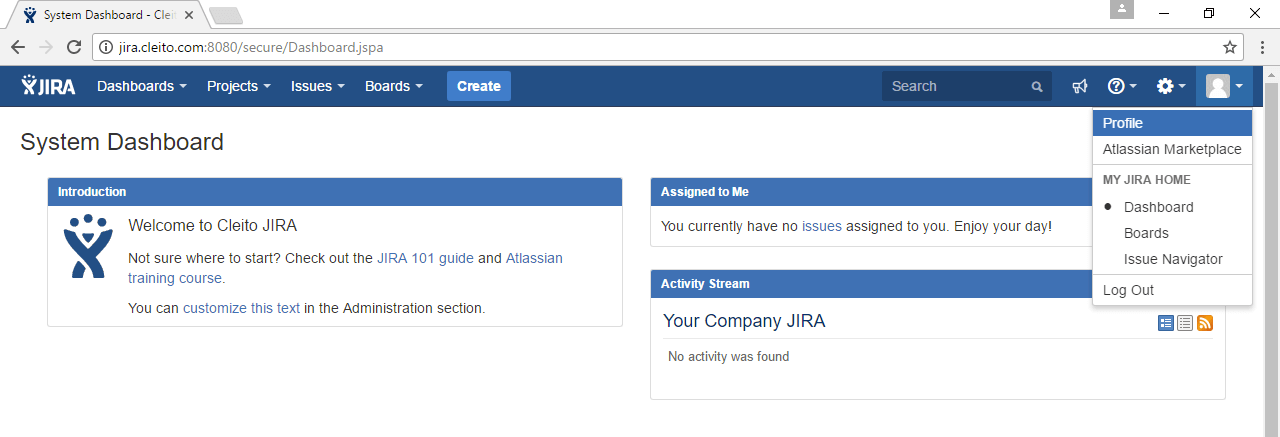 Already authenticated in Jira