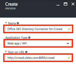 Create app registration